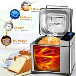 Máquina de pan de acero...